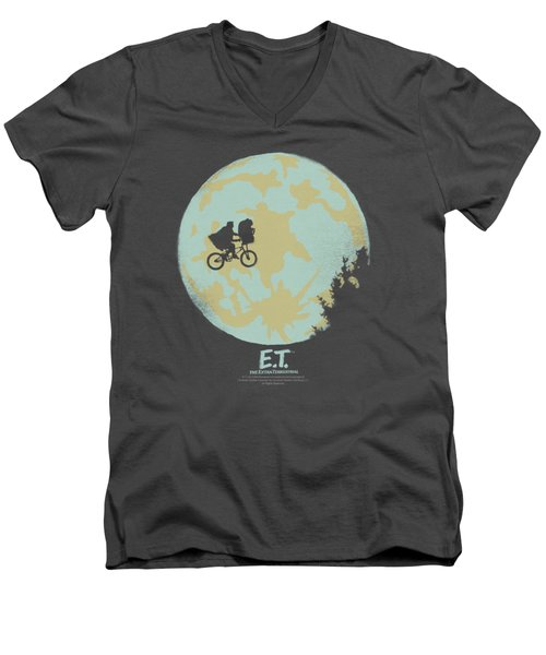 Et - In The Moon Men's V-Neck T-Shirt by Brand A