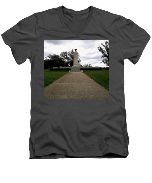 Eternal Light Peace Memorial Men's V-Neck T-Shirt