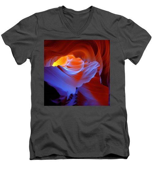 Evanescent Light Men's V-Neck T-Shirt