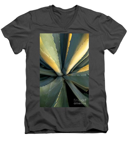 Evening Agave Men's V-Neck T-Shirt