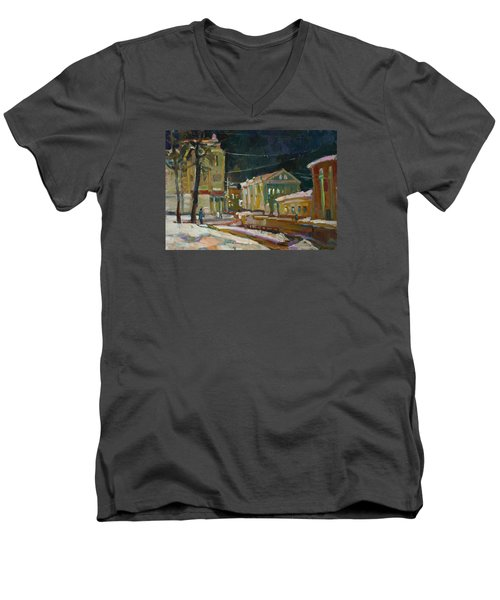 Evening Paints Men's V-Neck T-Shirt