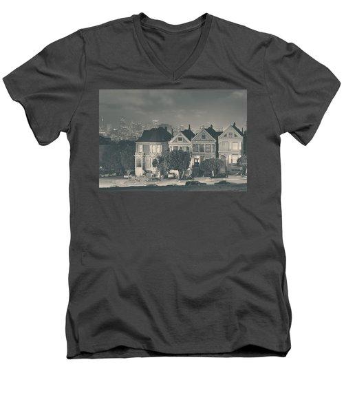 Evening Rendezvous Men's V-Neck T-Shirt