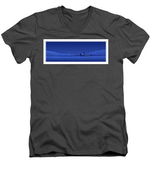 Evening Shade Men's V-Neck T-Shirt