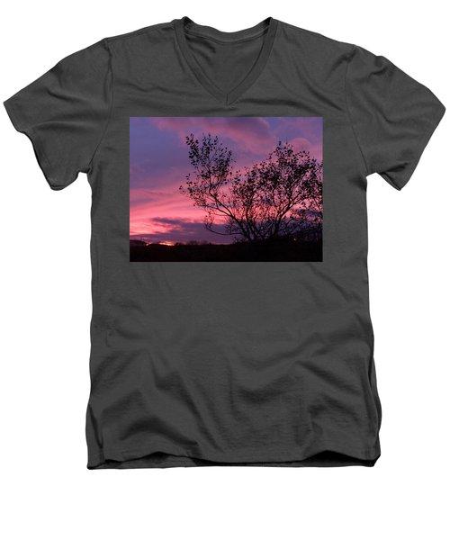 Evening Sunset Men's V-Neck T-Shirt
