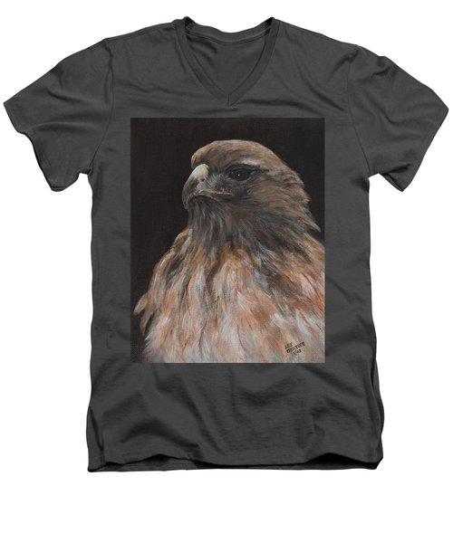 Ever Vigilant Men's V-Neck T-Shirt by Lee Beuther