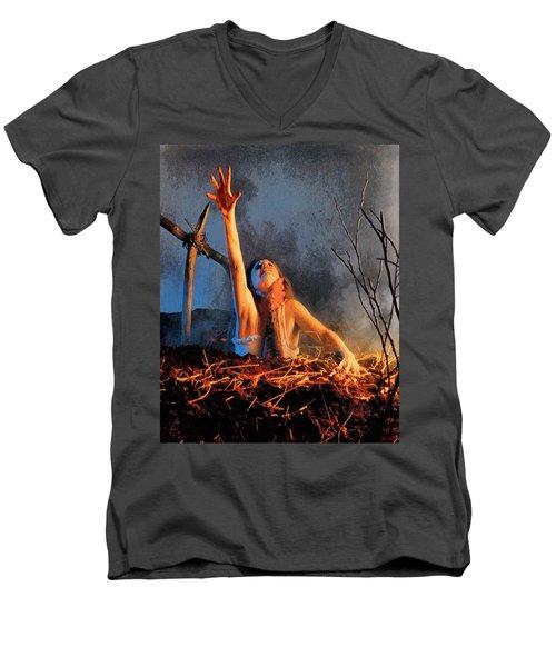 Evil Dead Men's V-Neck T-Shirt