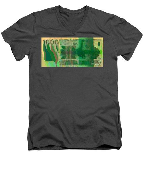 Ex 1000 Men's V-Neck T-Shirt