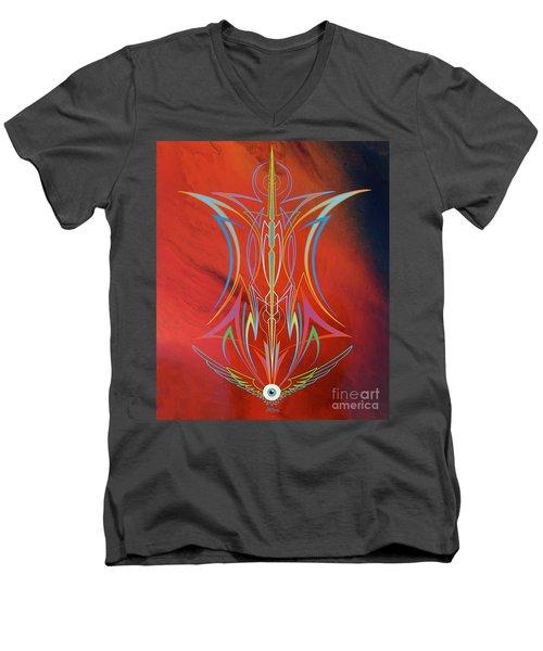 Eye Flying Men's V-Neck T-Shirt