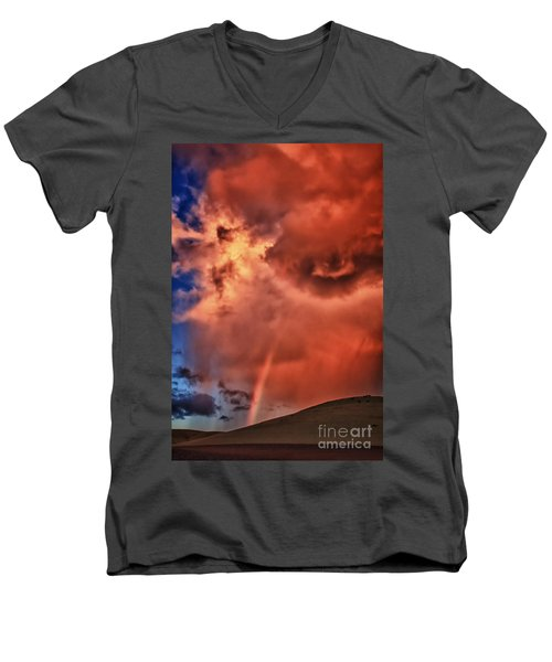 Eye Of The Storm Men's V-Neck T-Shirt