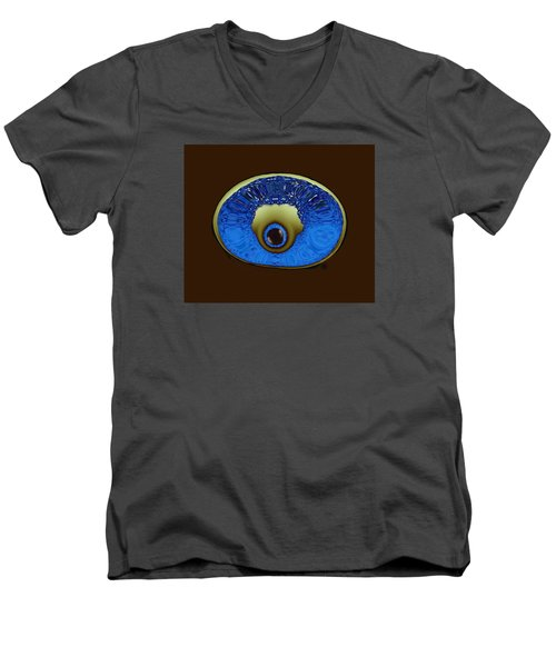 Eye Pod Men's V-Neck T-Shirt by Kevin Caudill