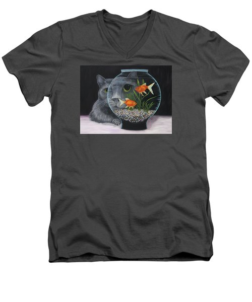 Eye To Eye Men's V-Neck T-Shirt