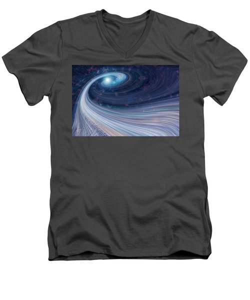 Fabric Of Space Men's V-Neck T-Shirt