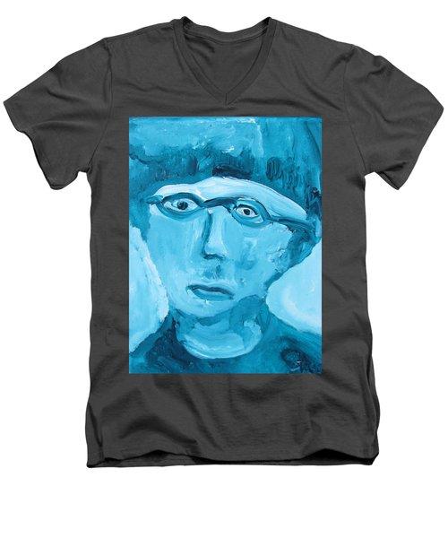 Face One Men's V-Neck T-Shirt