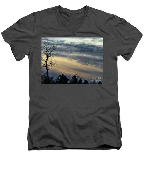 Fade To Black Men's V-Neck T-Shirt
