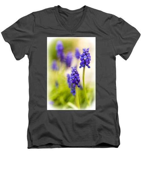 Men's V-Neck T-Shirt featuring the photograph Fading by Caitlyn  Grasso