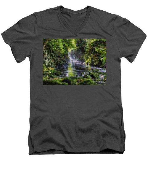 Fairy Glen Men's V-Neck T-Shirt