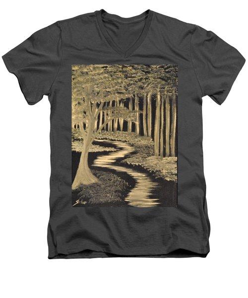 Faith Leads Us Men's V-Neck T-Shirt