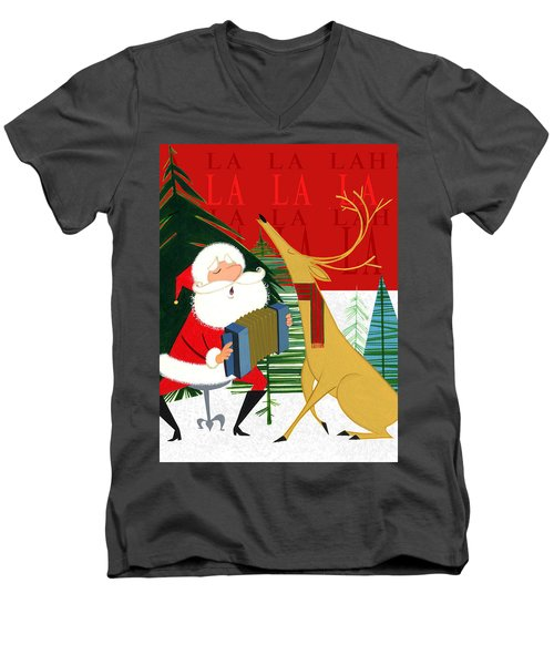 Falalalalah Men's V-Neck T-Shirt