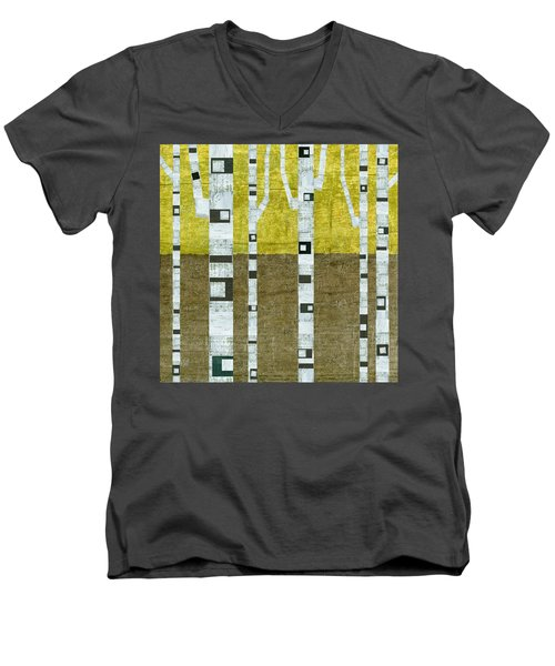 Fall Birches  Men's V-Neck T-Shirt