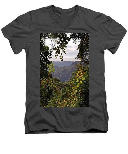 Fall Frames The Canyon Men's V-Neck T-Shirt