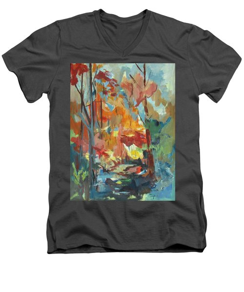 Fall From My Window Men's V-Neck T-Shirt