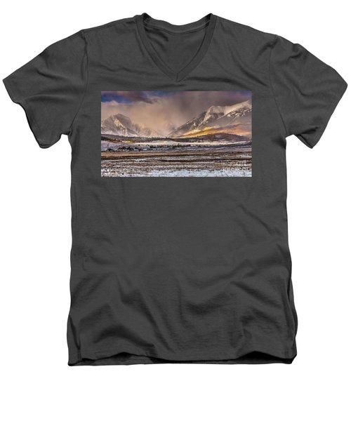 Fall Fury Men's V-Neck T-Shirt