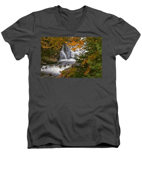 Fall In Fall - Chute Au Rats Men's V-Neck T-Shirt