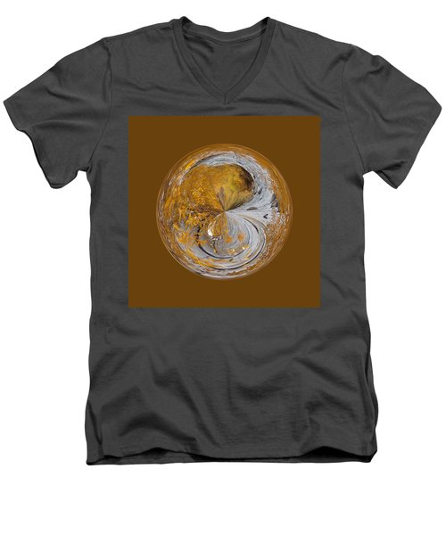 Fall Orb Men's V-Neck T-Shirt