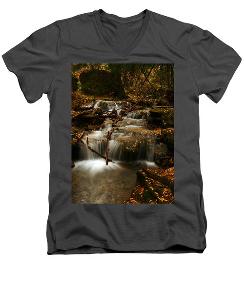 Fall With Grace Men's V-Neck T-Shirt