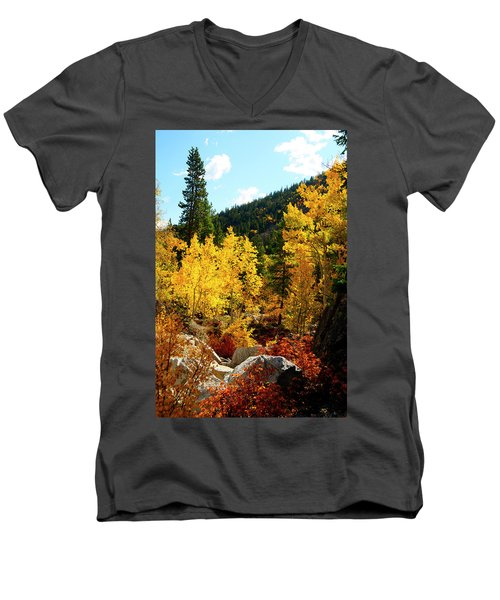 Fall2 Men's V-Neck T-Shirt