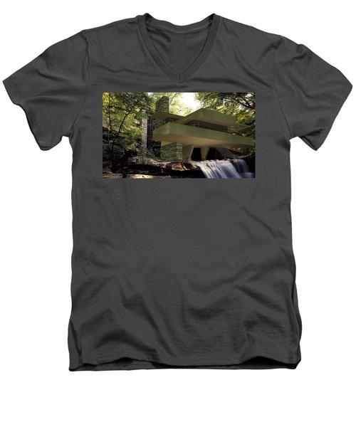 Fallingwaters Men's V-Neck T-Shirt