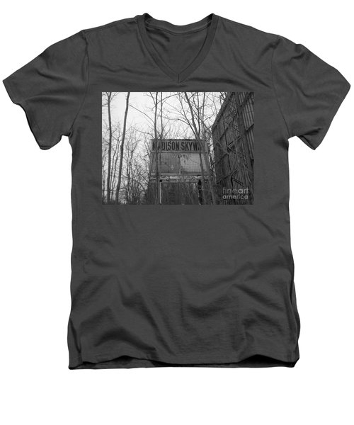 Men's V-Neck T-Shirt featuring the photograph Family Night  by Michael Krek