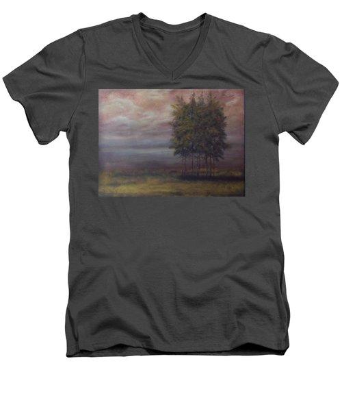 Family Of Trees Men's V-Neck T-Shirt