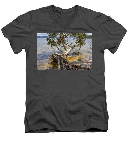 Farewell Men's V-Neck T-Shirt