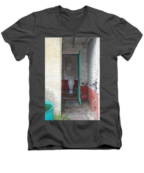 Farm Facilities Men's V-Neck T-Shirt