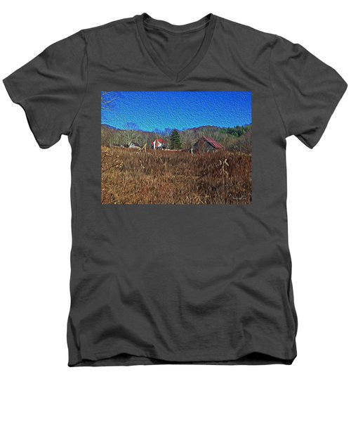 Farm House 2 Men's V-Neck T-Shirt