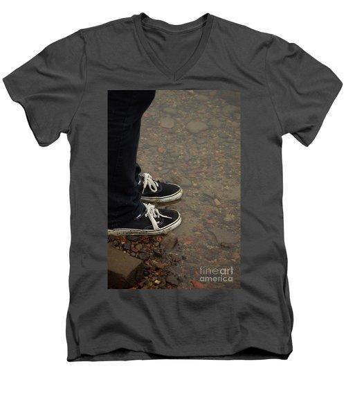 Fashion Meets Nature Men's V-Neck T-Shirt