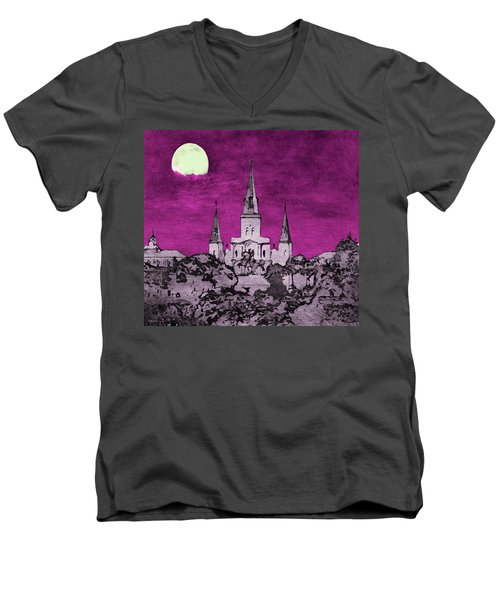 Fat Tuesday Eve Men's V-Neck T-Shirt