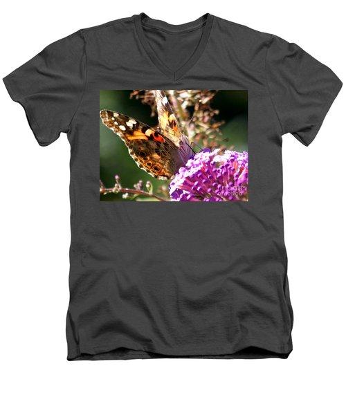 Feeding Men's V-Neck T-Shirt