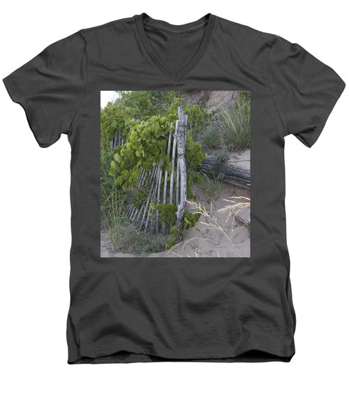 Fence N Sand Men's V-Neck T-Shirt