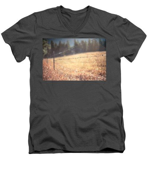 Field Of Dreams Men's V-Neck T-Shirt