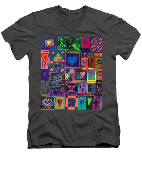 Find U'r Love Found Men's V-Neck T-Shirt