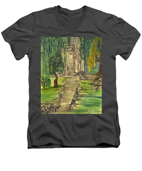 Finding Our Path Men's V-Neck T-Shirt