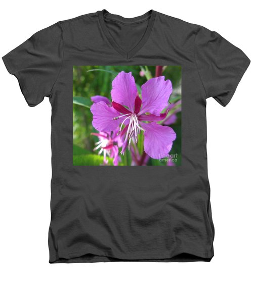 Fireweed 1 Men's V-Neck T-Shirt