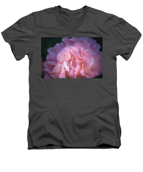 Men's V-Neck T-Shirt featuring the photograph First Light by Patricia Babbitt