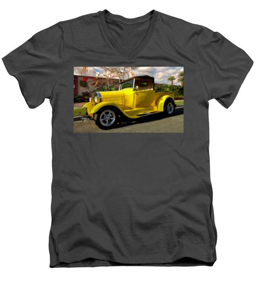 First Love Men's V-Neck T-Shirt by Michael Pickett