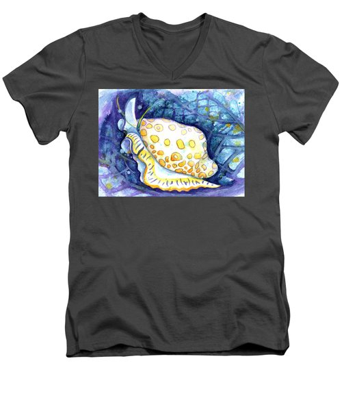 Flamingo Tongue Men's V-Neck T-Shirt