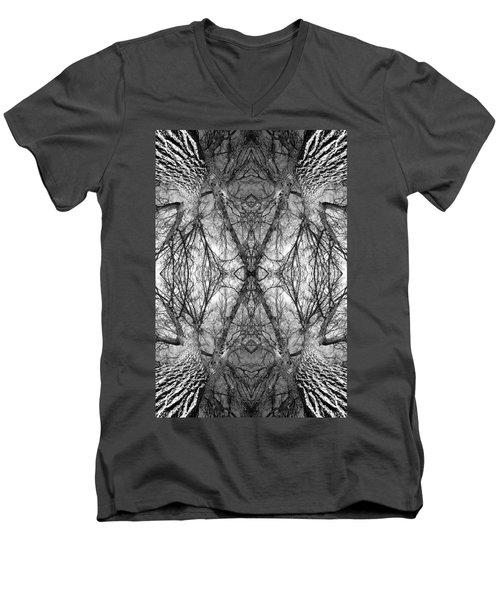 Tree No. 7 Men's V-Neck T-Shirt