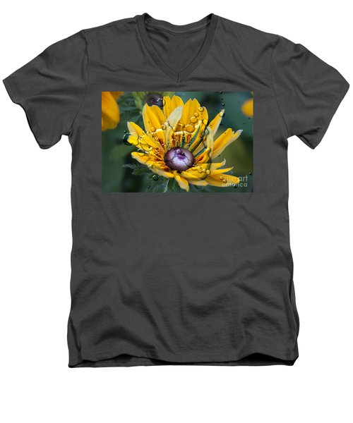 Floral 3 Men's V-Neck T-Shirt