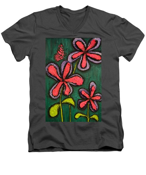 Flowers 4 Sydney Men's V-Neck T-Shirt